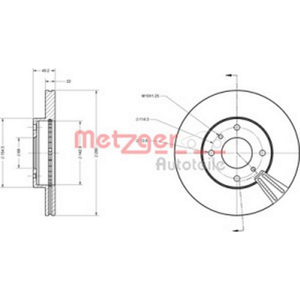 Metzger 6110066
