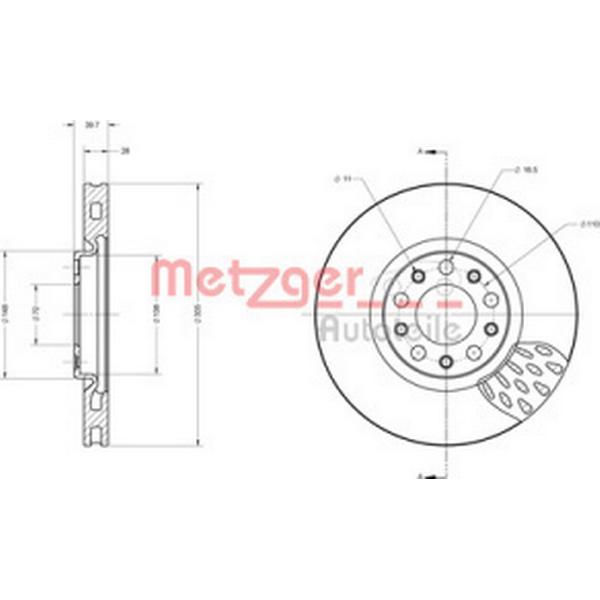 Metzger 6110558