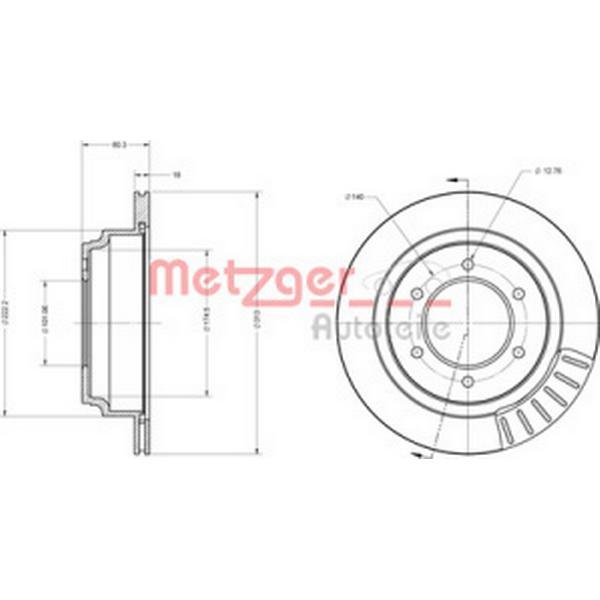 Metzger 6110158