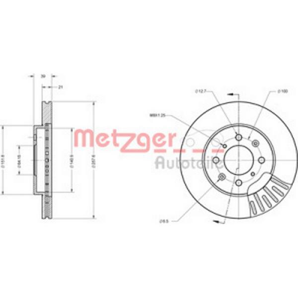 Metzger 6110334