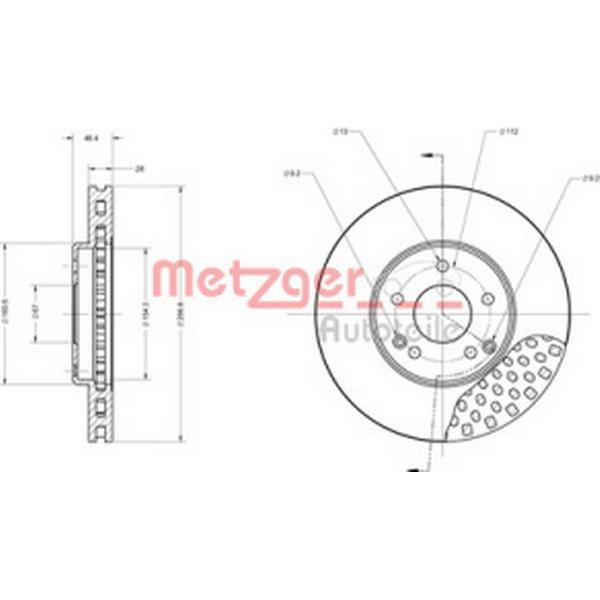 Metzger 6110140