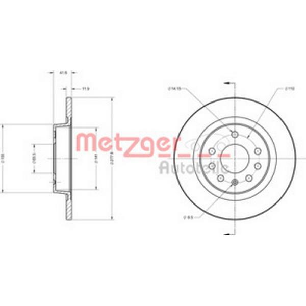 Metzger 6110119