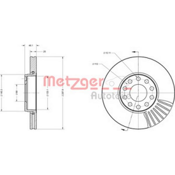 Metzger 6110080