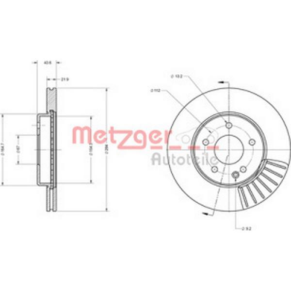 Metzger 6110135