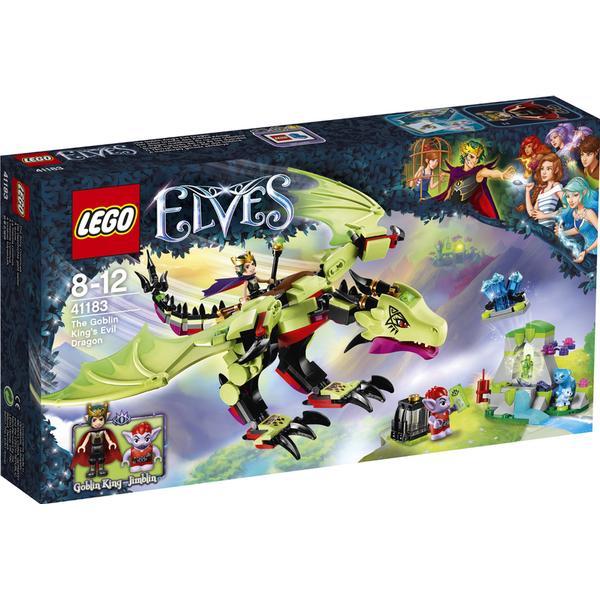 Lego Elves Gnomkongens Onde Drage 41183