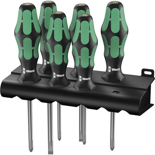 Wera 335/350/355/6 5105622001 Kraftform Plus Lasertip Set 6-delar