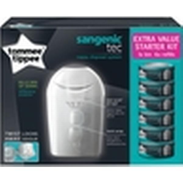 Tommee Tippee Sangenic Tec Nappy Disposal System Extra Value Starter Kit