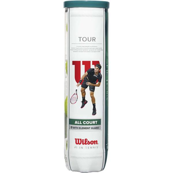 Wilson Tour All Court 4 Cans