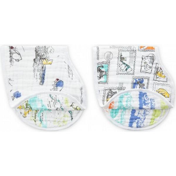 Aden + Anais Winnie the Pooh Disney Baby Classic Burpy Bibs 2-pack