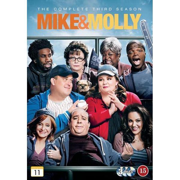 Mike & Molly: Säsong 3 (3DVD) (DVD 2013)