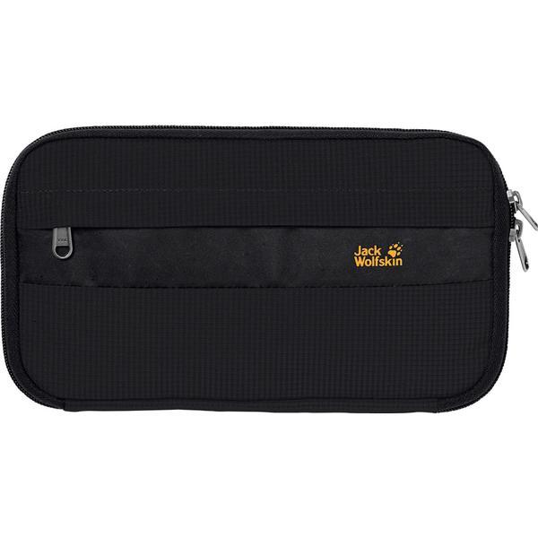 Jack Wolfskin Boarding Pouch RFID Wallet - Black (8002261-6000)