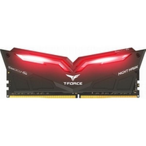 Team Group T-Force Nighthawk Black/Red LED DDR4 3200MHz 2x8GB (THRD416G3200HC16CDC01)