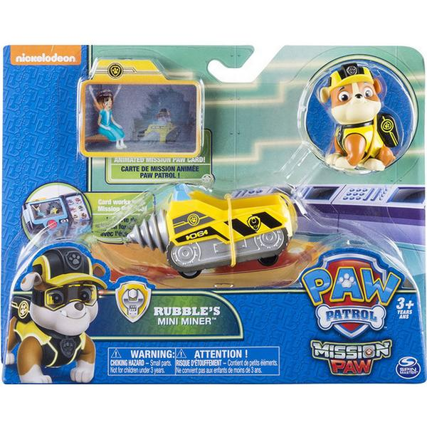Spin Master Paw Patrol Mission Paw Rubble's Mini Miner