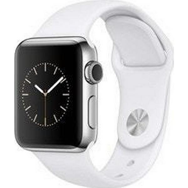 Apple Watch Series 2 38mm Stainless Steel Case with Sport Band