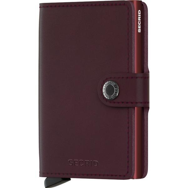 Secrid Mini Wallet - Original Bordeaux