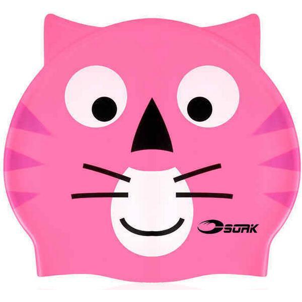 Soak Pink Cat Cap