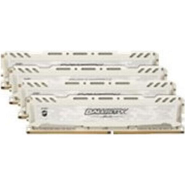 Crucial Ballistix Sport LT White DDR4 2666MHz 4x4GB (BLS4C4G4D26BFSC)