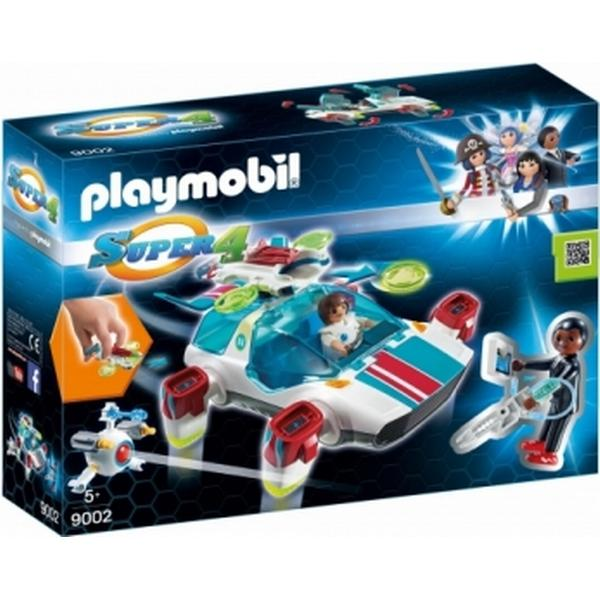 Playmobil Fulgurix with Agent Gene 9002