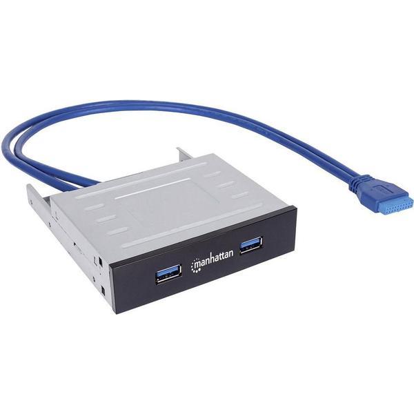 Manhattan 162661 2-Port USB 3.0/3.1 Intern