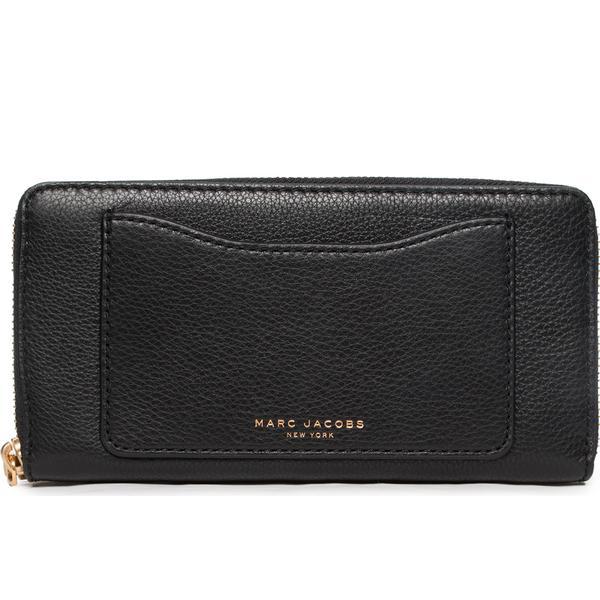 Marc Jacobs Recruit Standard Continental Wallet - Black (M0008168)