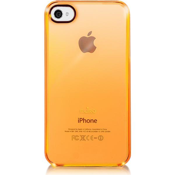 Puro Crystal Fluo Cover (iPhone 4/4S)