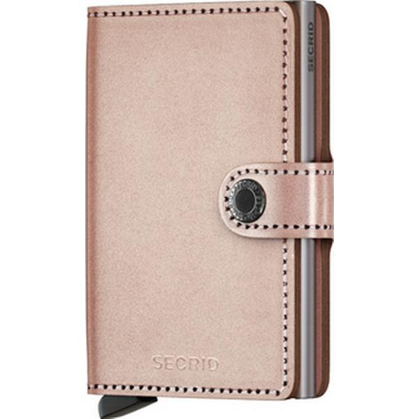 Secrid Mini Wallet - Metallic Rose