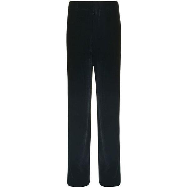 Vince Velvet Wide Leg Pants - Black