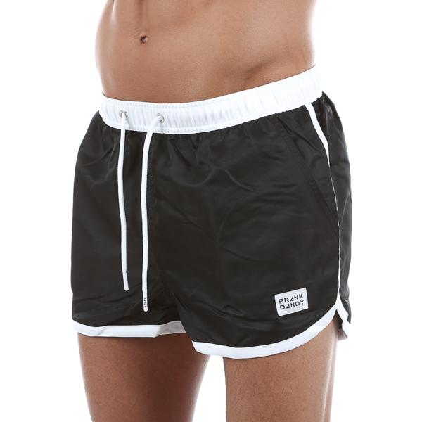 Frank Dandy St Paul Long Swim Shorts - Black