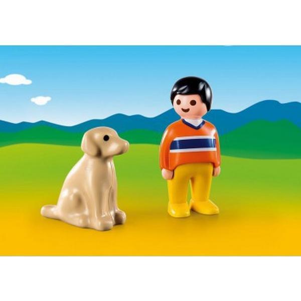 Playmobil Man with Dog 9256