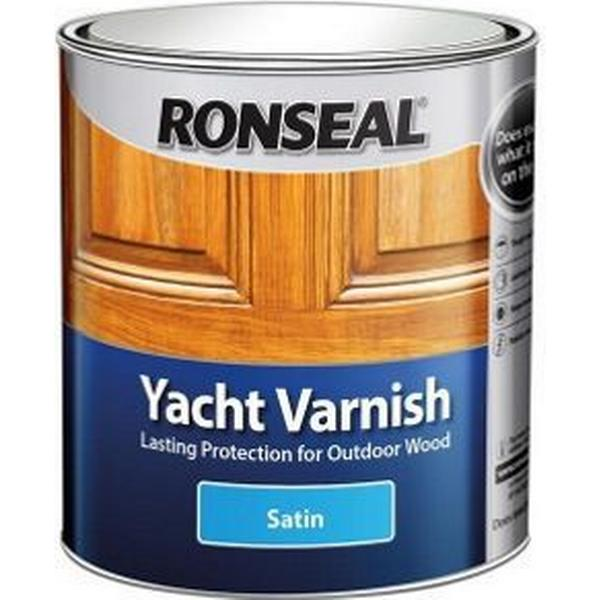 Ronseal Yacht Varnish Woodstain Transparent 0.25L