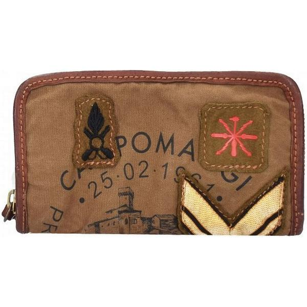 Campomaggi Zip Around Wallet With COat of Arms