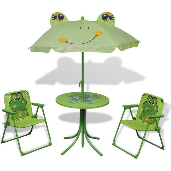 vidaXL 41843 Havemøbelsæt, 1 borde inkl. 2 stole