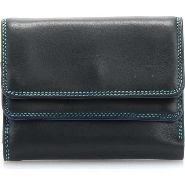 Mywalit Small Double Flap Wallet - Black Pace (1212-4)