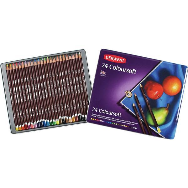 Derwent Coloursoft Pencil 24-pack