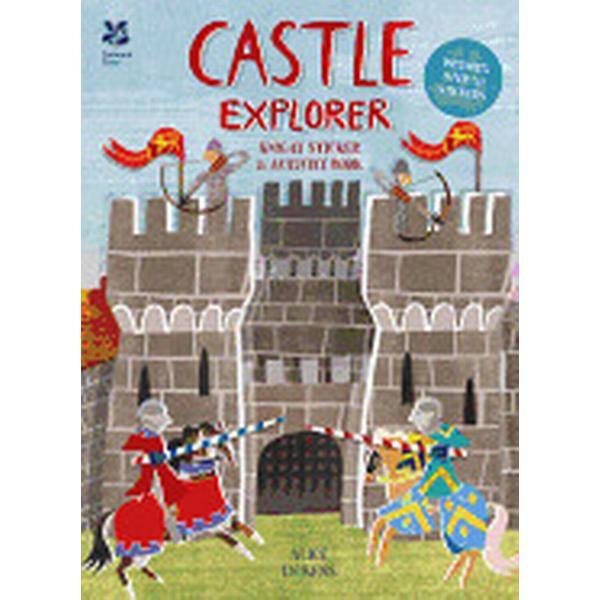 castle explorer knight sticker and activity book