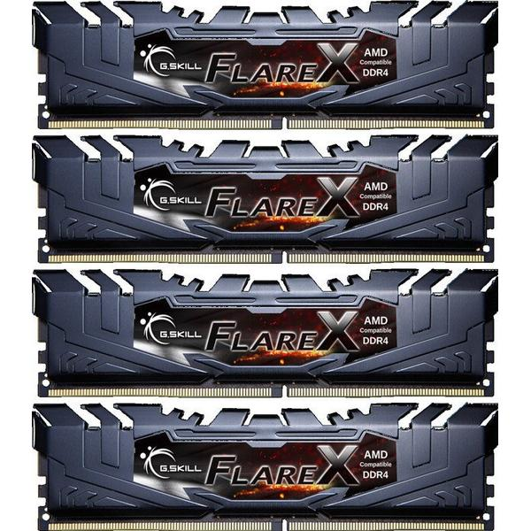 G.Skill Flare X DDR4 2400MHz 4x8GB for AMD (F4-2400C16Q-32GFX)