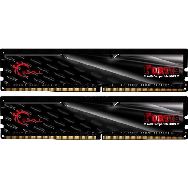 G.Skill Fortis DDR4 2400MHz 2x8GB for AMD (F4-2400C15D-16GFT)