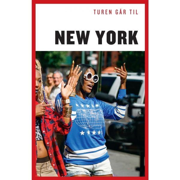 Turen går til New York, E-bog