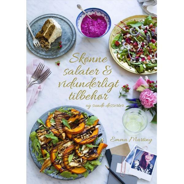 Skønne salater & vidunderligt tilbehør (Inbunden, 2014)
