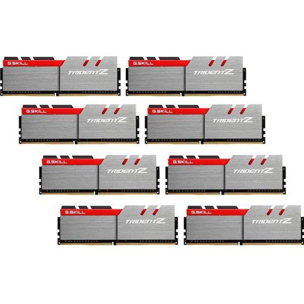 G.Skill Trident Z DDR4 3300MHz 8x8GB (F4-3300C16Q2-64GTZ)