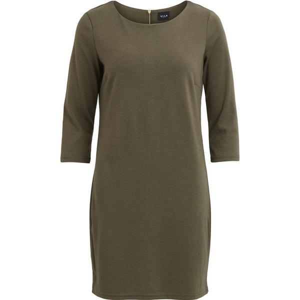 176eb1e51847 Vila Vitinny Simple Dress Green/Ivy Green - Hitta bästa pris ...