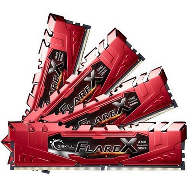 G.Skill Flare X DDR4 2400MHz 4x8GB (F4-2400C16Q-32GFXR)