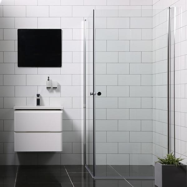Bathlife Versatile Brusehjørne 900x700mm