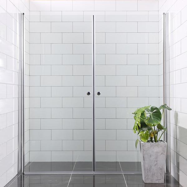 Bathlife Versatile Brusedør 900mm