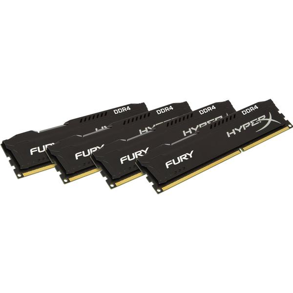 HyperX Fury Black DDR4 2666MHz 4x8GB (HX426C16FB2K4/32)