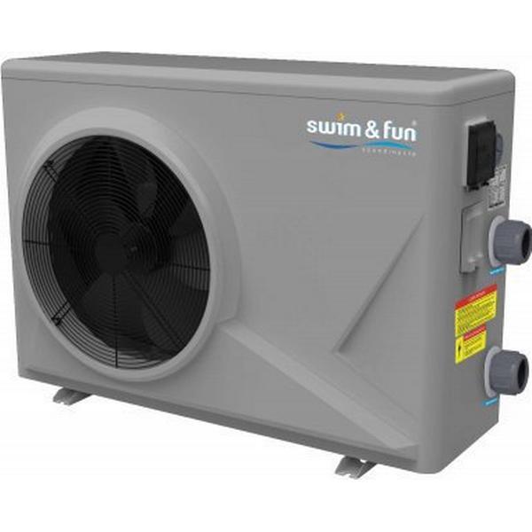Swim & Fun Inverter Varmepumpe 12.5kW