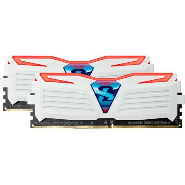 Geil Super Luce Red DDR4 2400MHz 2x4GB (GLWR48GB2400C16DC)