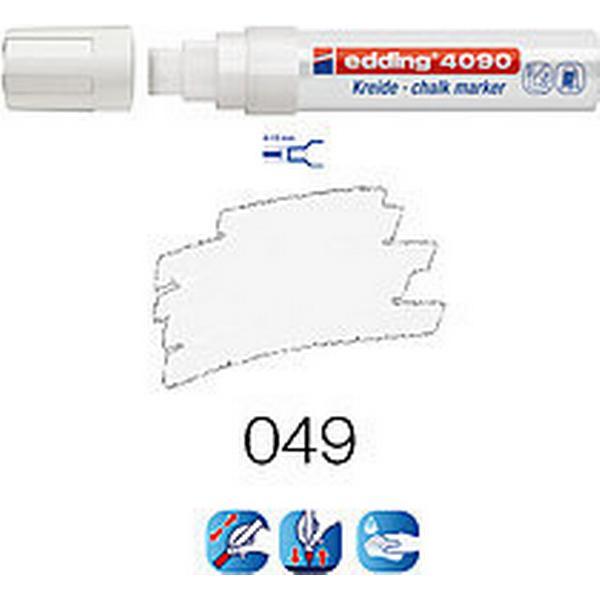 Edding 4090 Chalk Marker 4-15mm White