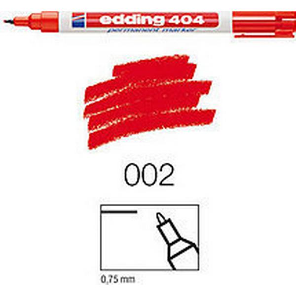 Edding 404 Marker 0.75mm Round Tip Red