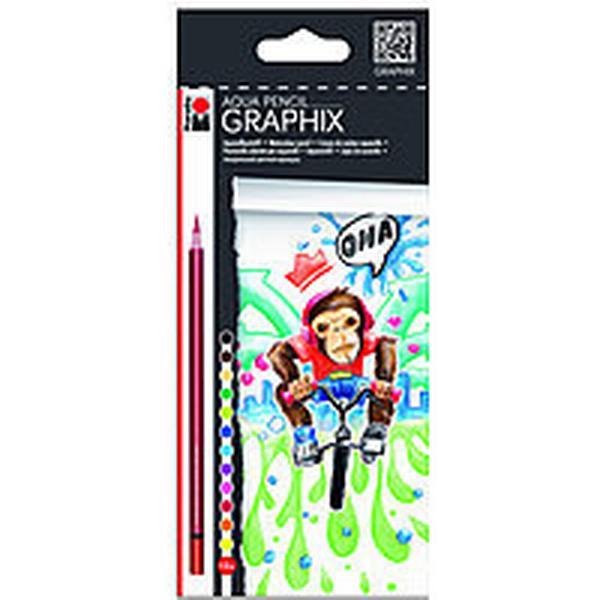 Marabu Funky Monkey Aqua Pencil Graphix 12-pack